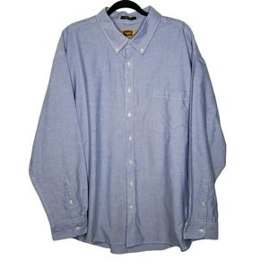 Foundry Light Blue Easy Care Button Down